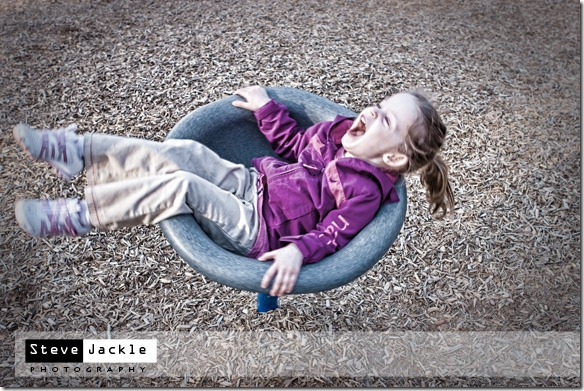 Playground stuff is fun - kids lifestyle portrait photography by Raleigh photographer Steve Jackle