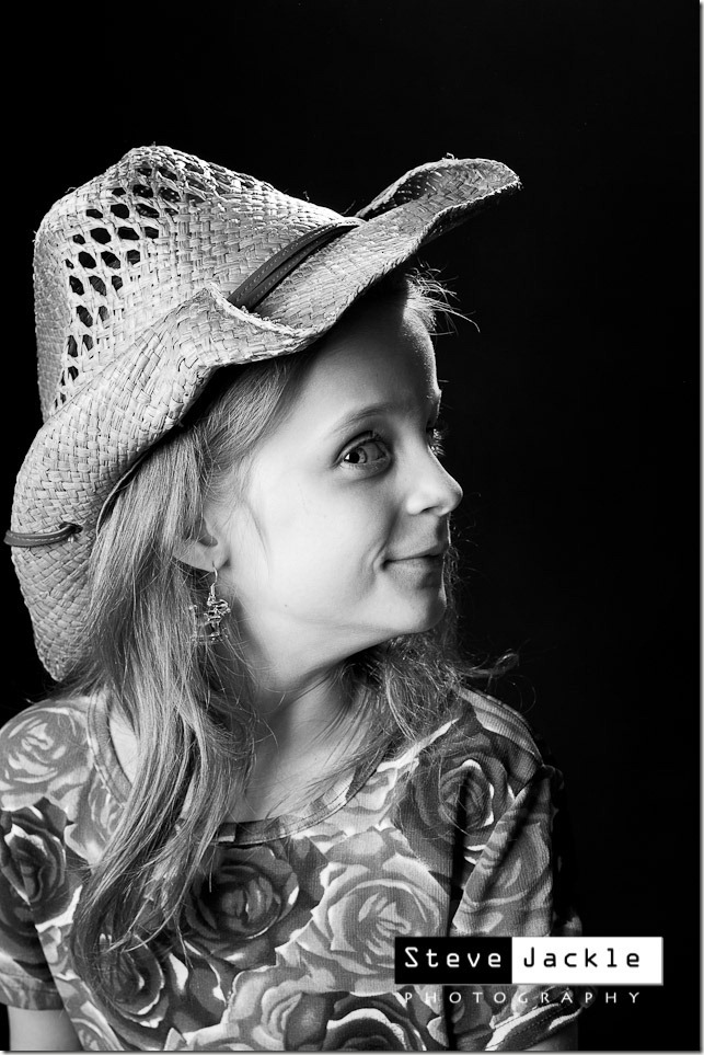 black white children portrait - Steve Jackle Photography
